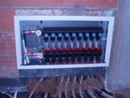 Armario colectores calefaccion